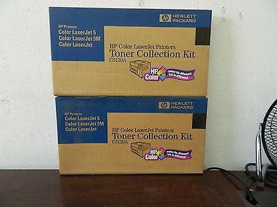 Lot of 2 HP Collor LaserJet Toner Collection Kit Color LaserJet // C3120A