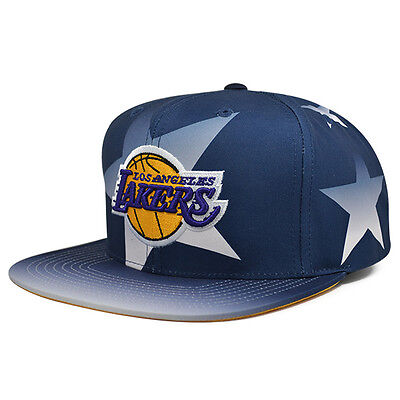 cheaper 11f18 676e9 Los Angeles Lakers AWARD CEREMONY Snapback Mitchell   Ness NBA Hat