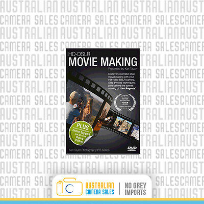 Karl Taylor - HD-DSLR Moving Making Course DVD