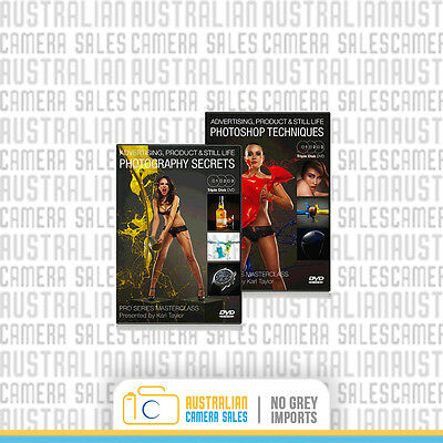 Karl Taylor Pro - Advertising, Product & Still Life Photography Course DVD