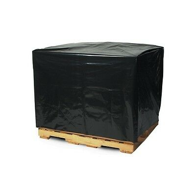 Pallet Covers, 2 Mil, 54x44x96, Black, 50 Per Case