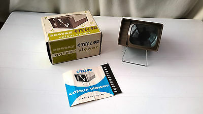 Photax Stellar Slide Viewer (boxed with instructions)