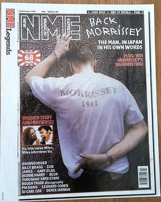 MORRISSEY ' back MORRISSEY' magazine PHOTO/Poster/clipping 12x10 inches