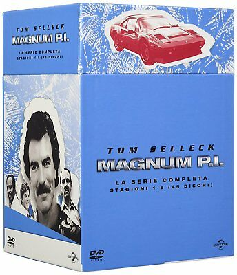 MAGNUM PI - LA COLLEZIONE SERIE TV COMPLETA 01-08 (45 DVD) Tom Selleck