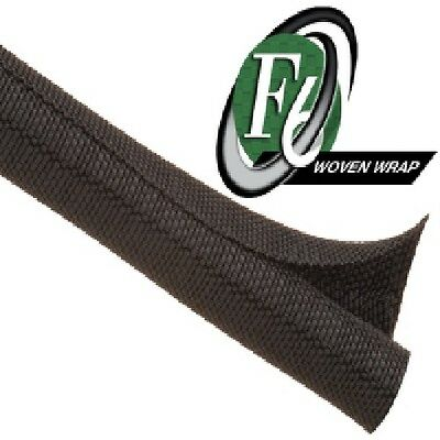 3 meters - F6 Woven Split Tubular Harness Wrap Cable Sleeving