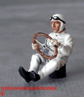 Le Mans Miniatures Seated Driver Of The 1930's - 50's Figure - Unpainted - New