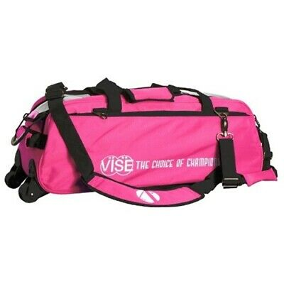 Vise Pink 3 Ball Tote Bowling Bag