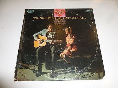 CONNIE SMITH & NAT STUCKEY - Young Love - 1969 US 12-track stereo LP