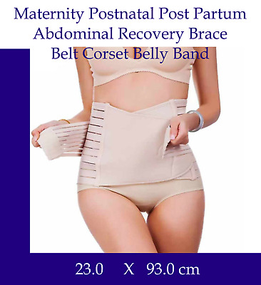 Maternity Postnatal Post-Partum Abdominal Recovery Brace Belt Corset Belly Band