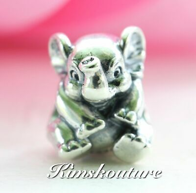 Authentic Pandora #791902 Lucky Elephant Bead