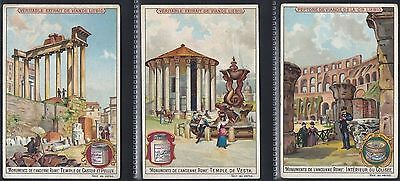 Liebig-*s0564*-Full Set Of 6 Cards- Belgium - Monuments Of Ancient Rome