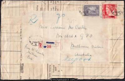 Netherlands Indies 1947 (Dec) Handmade Cover Bali to Melbourne