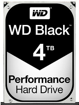 "WD Black WD4004FZWX 3.5"" 4TB 128MB 7200RPM Desktop HDD[WD4004FZWX]"