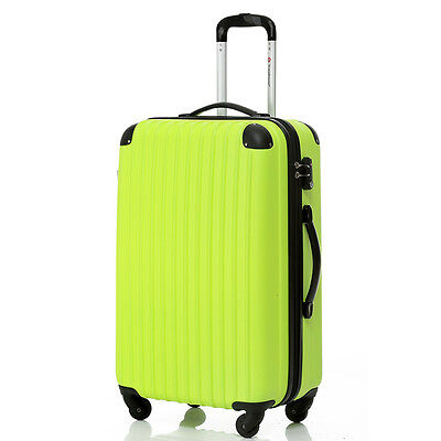 Travelhouse Hard Shell 4 Wheel Spinner Suitcase ABS Luggage Trolley Cabin