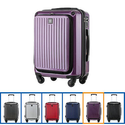 Hard Shell Cabin 4 Wheel Spinner Suitcase  Luggage Trolley Case Carry On Hand