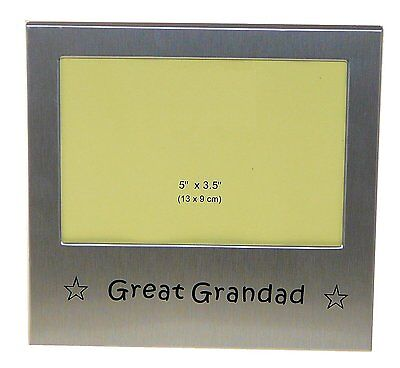 "Great Grandad Photo Picture Frame Gift 5"" x 3.5"""
