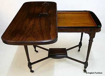 Victorian Rosewood Folding Card Table With Games Store FREE Nationwide Delivery