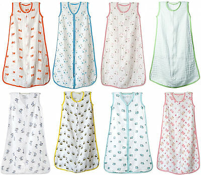 Original NEW sleeping bag Aden and Anais 100% Cotton Muslin Baby SUMMER !!!!
