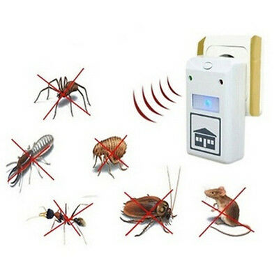 Spiders EU Plug/US Plug Pest Repelling Aid HOT Mosquito Electronic Dispeller