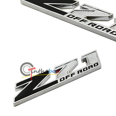 1PC 3D Metal Z71 Off Road Emblem Badge Sticker for Chevy Silverado GMC Sierra