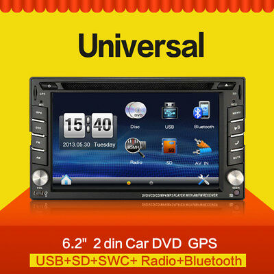 Cam Car DVD Player GPS Radio Bluetooth 2 Din Universal For X-TRAIL Qashqai X Tra