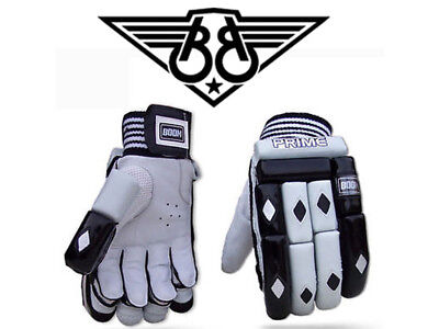 BOOM Prime Real Leather Right hand Batsman Professional Cricket Batting Gloves