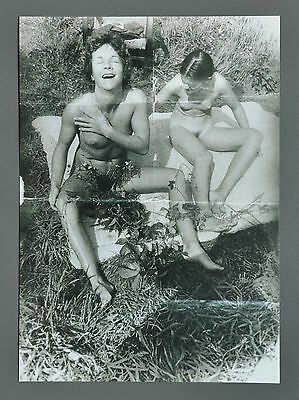Sigmar Polke Limited Ed. Photo Print 21x30cm Untitled Willich 1972 Nude B&W Art
