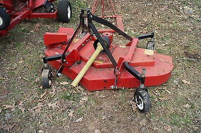 BushHog ATH 720 3 Point 6' Finish Mower for Tractors. 540 PTO. Decent Shape