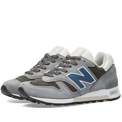 New Balance M1300DAR: 1300 Explore-by-Air Lead/Blue Made-in-USA Premium Sneaker
