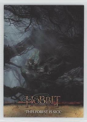 2015 Cryptozoic Hobbit: Desolation of Smaug #07 The Forest Is Sick Card 0c3