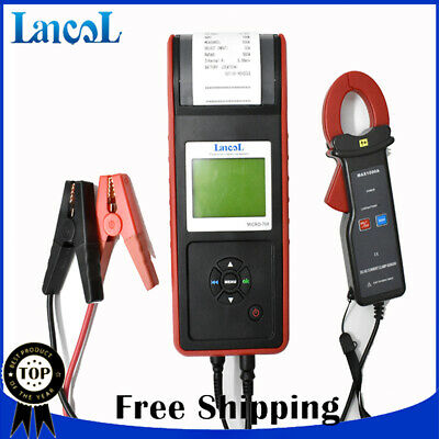 Auto Battery Tester with printer MICRO-768A same funtion as BST-760