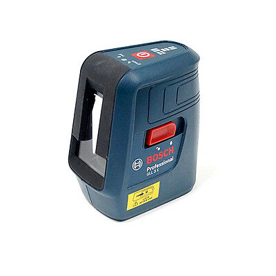 Genuine Bosch GLL 3X Professional Self Level Cross 3 Line Laser