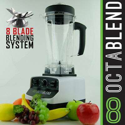 NEW Logik Octablend Commercial Blender Nutritional Powerhouse 2200W