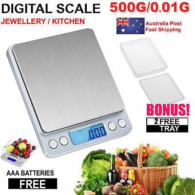 0.01-30g Kitchen Food Scale Digital LCD Electronic Balance Weight Postal Scales