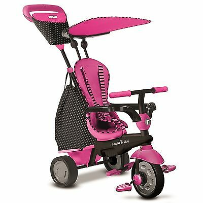 Smart Trike Dreirad Glow 4 in 1 von 10 - 36 Monate pink
