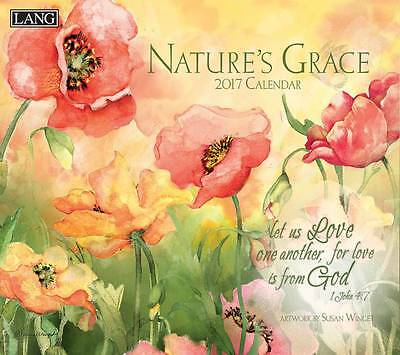 Nature's Grace 2017 Lang Calendar By Susan Winget Packed Well New Free Shipping