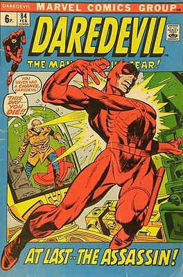 Daredevil (Vol 1) #  84 Fine (FN) Price VARIANT Marvel Comics SILVER AGE