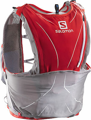 Salomon S-Lab Adv Skin 12Set Hydration Backpack - Red