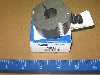 "Martin 1610 3/4"" Taper Lock Bushing 16103/4  -   New in Box"