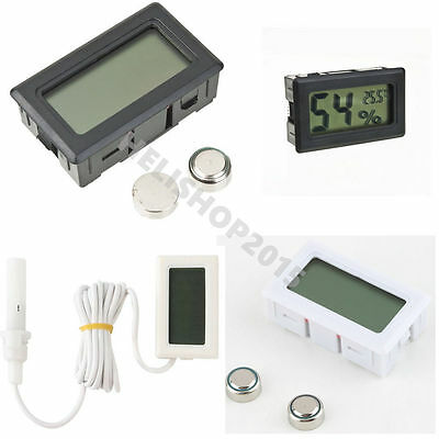 Mini Digital LCD Thermometer Hygrometer Humidity Temperature Meter Indoor NEW HL