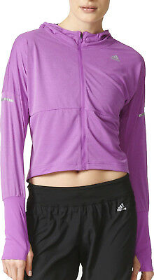 adidas Pure X Ladies Running Jacket - Purple