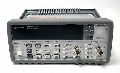 NEW HP 53132A UNIVERSAL COUNTER w/ UNOPENED MANUALS AND DISCS