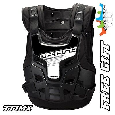 Gp-Pro Motocross Enduro Mx Chest Protector Body Armour Large-X-Large *free Gift*