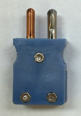 "Standard Male Thermocouple Plug Type ""T"""