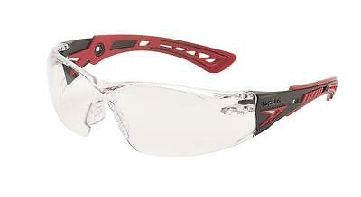 BOLLE Rush Plus + CLEAR Lens SPORT Safety Cycling Skiing Glasses - NEW SEALED