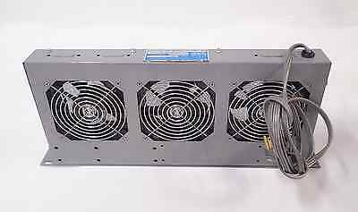 Mclean Engineering Ues17H115 Three-Fan Assembly Rack-Mountable Tested & Working!