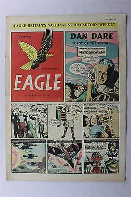 Eagle #50 March 22nd 1951 VG- Vintage Comic Golden Age Dan Dare Cartoon Strips