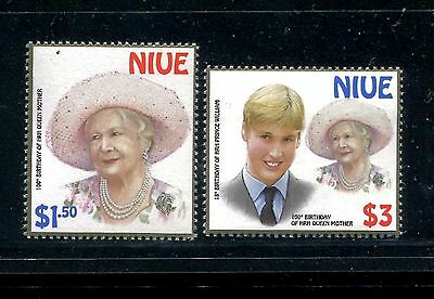 Niue 2000 Queen Mother & Prince William MNH