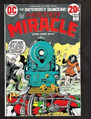 """Mister Miracle #13 ~ """"The Dictator's Dungeon!"""" ~ 1973 (7.5) WH"""