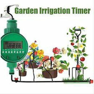 Automatic Electronic LCD Irrigation Water Timer Garden Sprinkler Controller